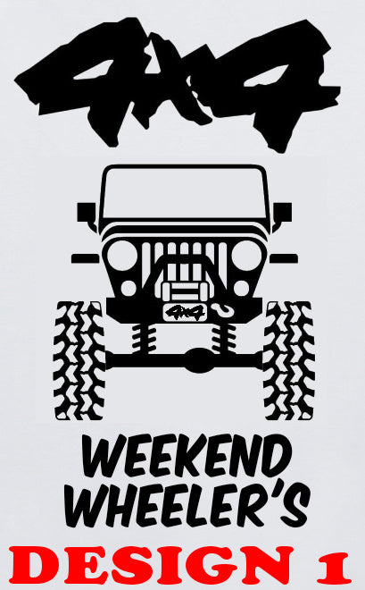 4x4 Weekend Wheeler's Mug