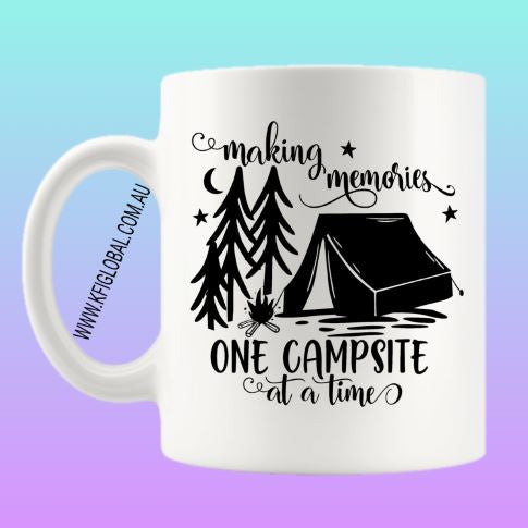 Making memories one campsite at a time Design - camping