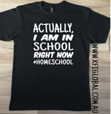 Actually, I am in school right now Tee / Bodysuit