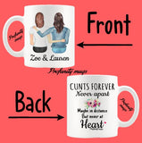 Personalised Cunts Forever Design Mug - Profanity Mugs