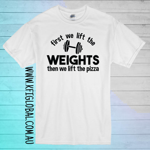 First we lift the weights Design