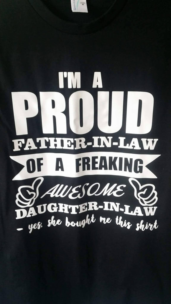 I'm a proud Father tee