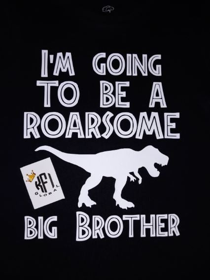 I'm going to be a roarsome big brother Tee / Bodysuit