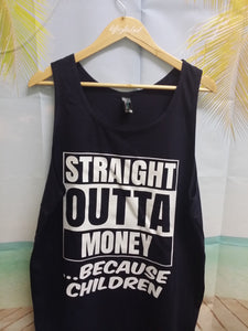 Straight Outta Money Design