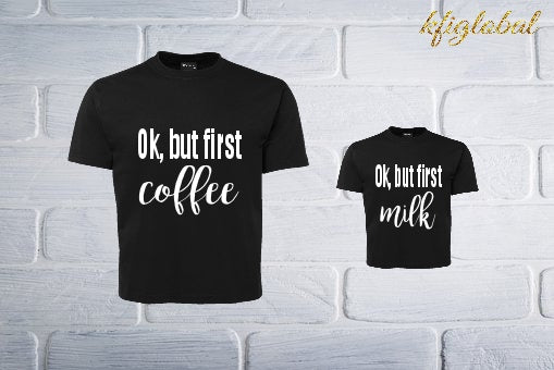 Ok, but first shirt set