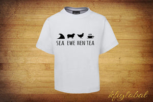 Sea Ewe Hen Tea Shirt