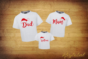 Santa Family Shirt Set