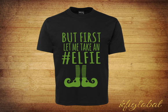 Adults #Elfie Shirt