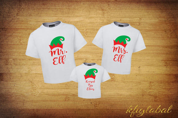 Elf Family Shirt Set