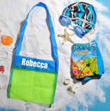 Children's Mesh Bag - Beach Bag - Rock Drop bag