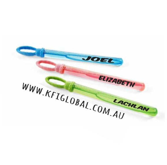 Personalised Bubble Wand