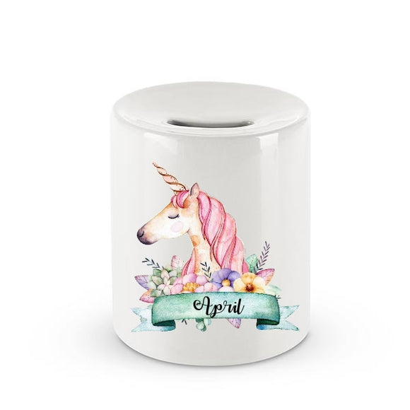 Personalised Animated Character Ceramic Money box