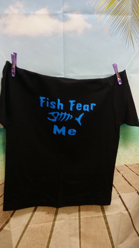 Fish Fear Me design - All ages