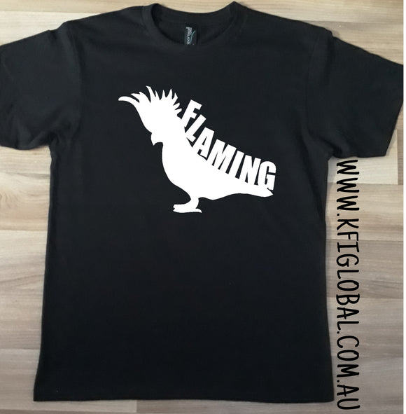 Flaming Galah design - All ages