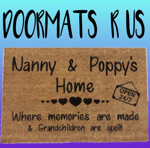 Personalised Grandparents Doormat - Doormats R Us