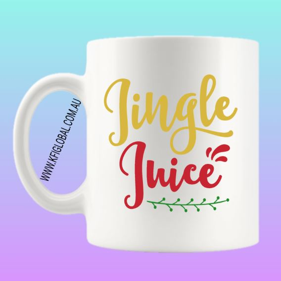 Jingle Juice Mug Design - Christmas