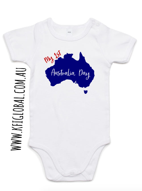 My 1st Australia Day Tee / Bodysuit