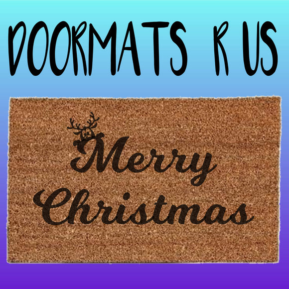 Merry Christmas Doormat - Doormats R Us