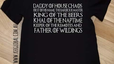 Daddy of house chaos Design - game of thrones inspired