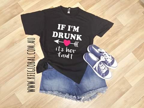 If I'm Drunk Design - it's her fault