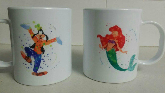 Personalised Animated Character polymer mug