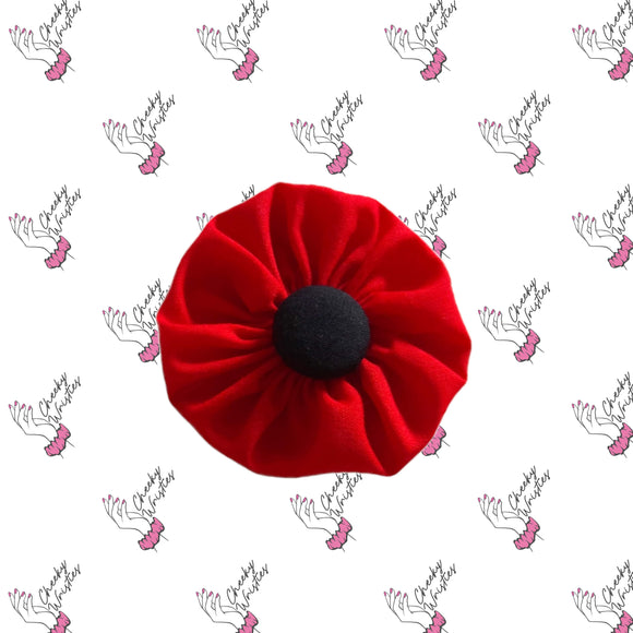 Poppy Flower Clip - Disc