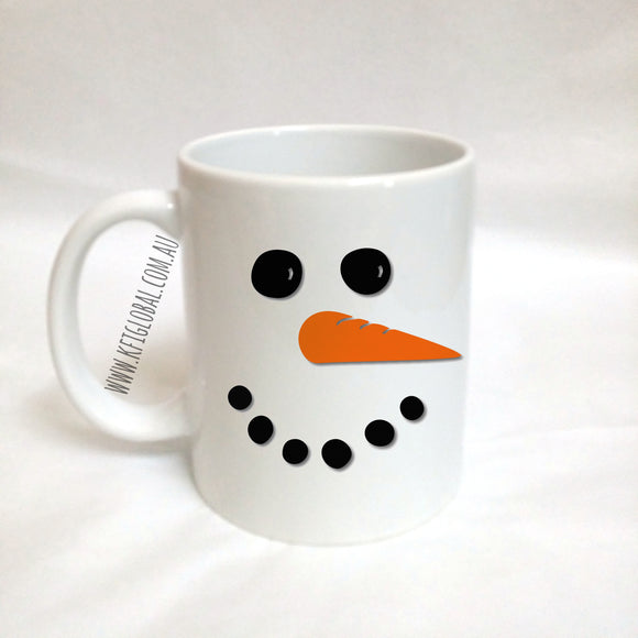 Snowman Christmas Mug and Snowman Soup Set
