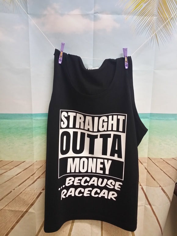 Straight outta money Singlet