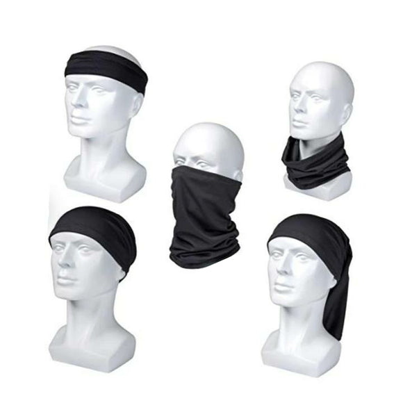 Custom Design Pull up Mask - Multi-function headscarf