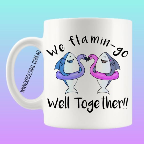 We flamin-go well together Mug Design