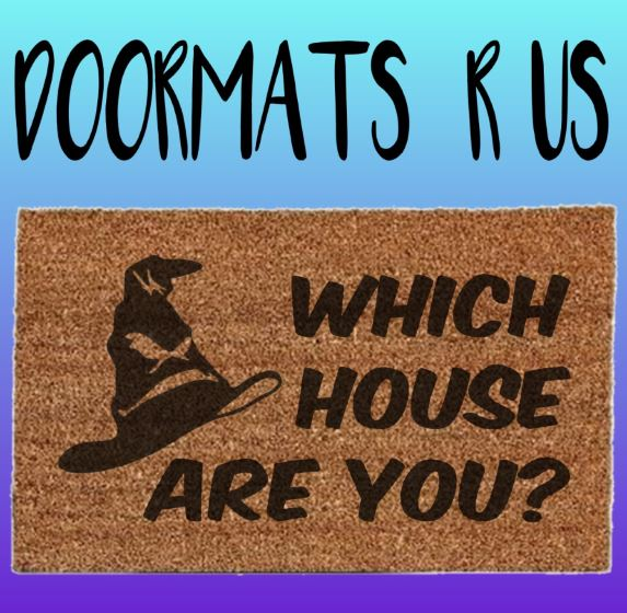 Which house are you? Doormat - Doormats R Us