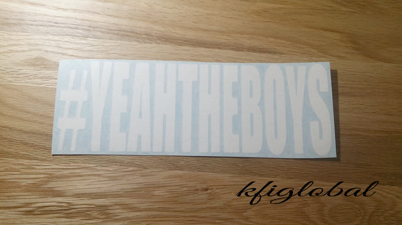 #YEAHTHEBOYS Sticker
