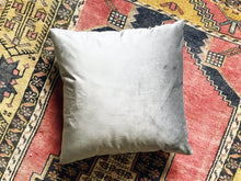 Premium Velvet Pillow Cover ~ Mystic Gray