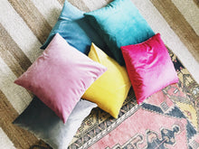 (NEW) Ultra Soft Velvet Pillow Cases ~ 8 Colors Options