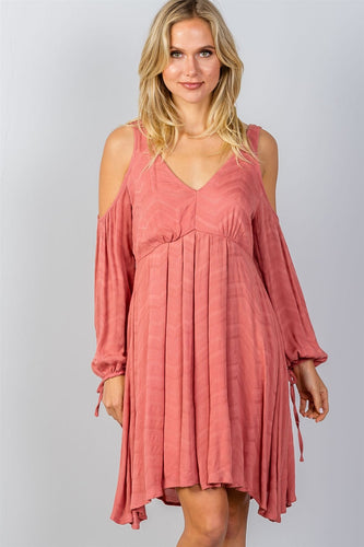 Boho Dreams Open Shoulder Dress