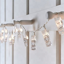 LARGE LED Clip Garland Set~ 20 LED (7.2 ft)