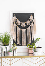 Authentic Handwoven Macramé ~ Large Garland