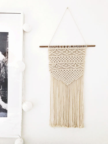 Authentic Handmade Macramé ~ Tapestry B