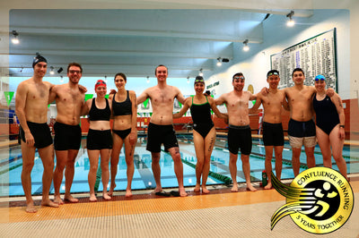 Binghamton University Health & Wellness Studies Holds Class Triathlon
