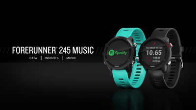 ANNOUNCEMENT: Forerunner 245 & 945 Music show off their upgrades