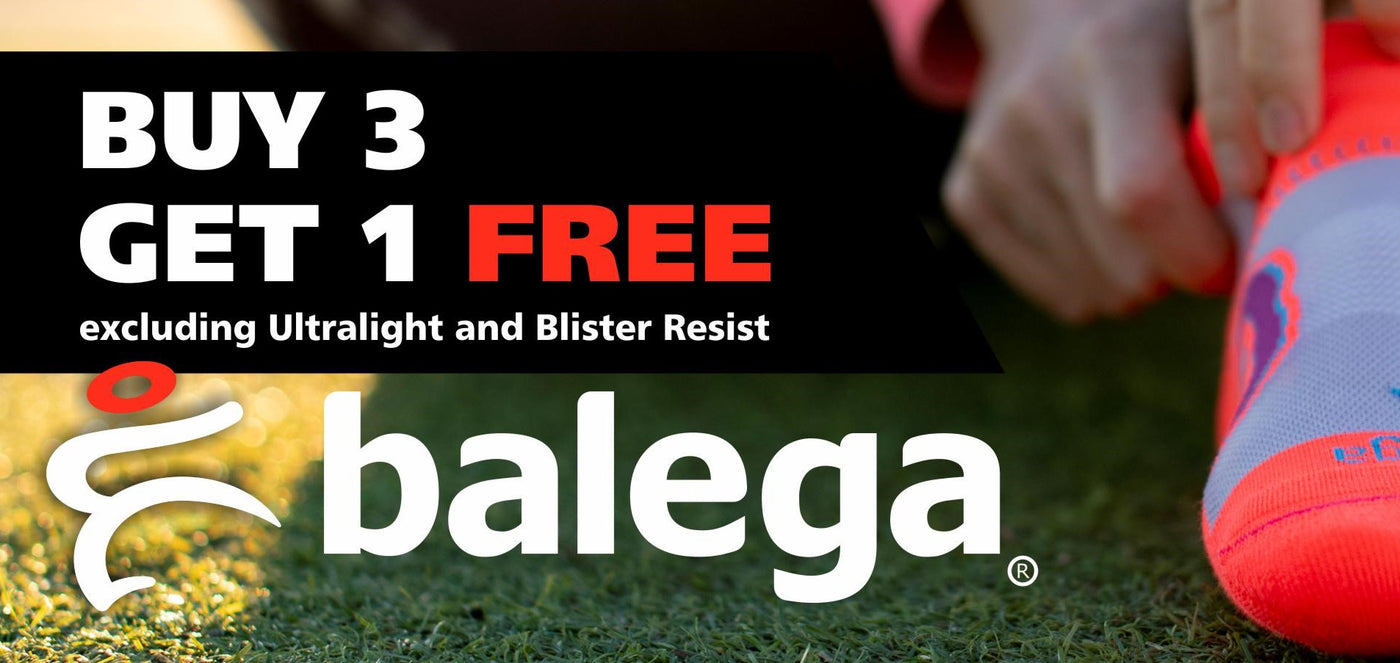 Balega Buy 3 Get One Free Promotion | Soft & Comfortable Socks