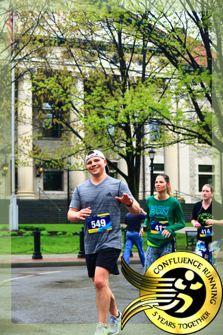 Timothy Strong, Visions Federal Credit Union Development Manager takes on his first Binghamton Bridge Run Half Marathon