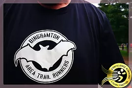 Binghamton Area Trail Runners BATs race Fields, Forest, and Falls Trail Race