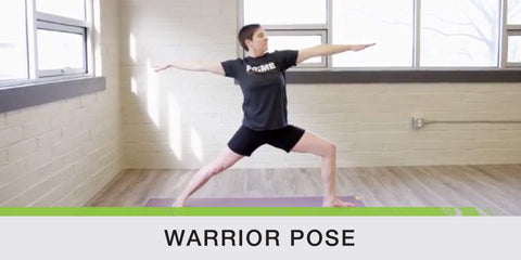 Warrior Pose for Running Wellness