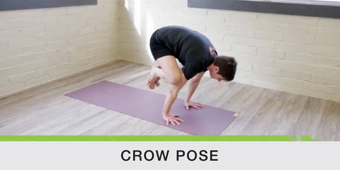 Crow Pose for Running Wellness
