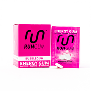 Run Gum | Single Pack | Compressed Energy Gum | Caffeine+Taurine+B-Vitamins