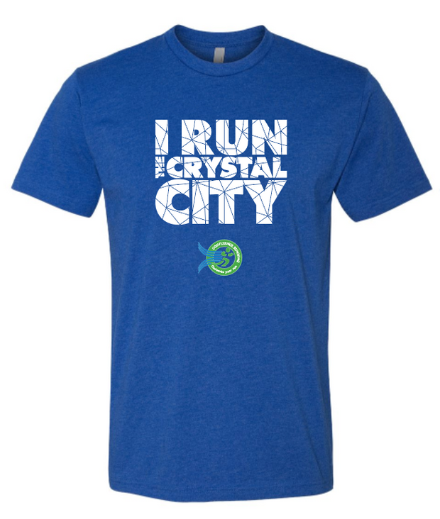I Run the Crystal City | T-Shirt | Men's