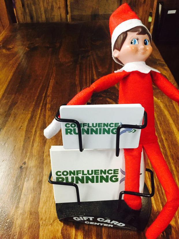 Confluence Running Gift Cards & Elf on the Shelf
