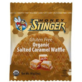 Honey Stinger | Organic Gluten Free Waffle Individual | Sports Nutrition