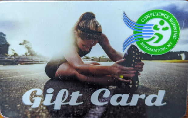 A Confluence Running Gift Card